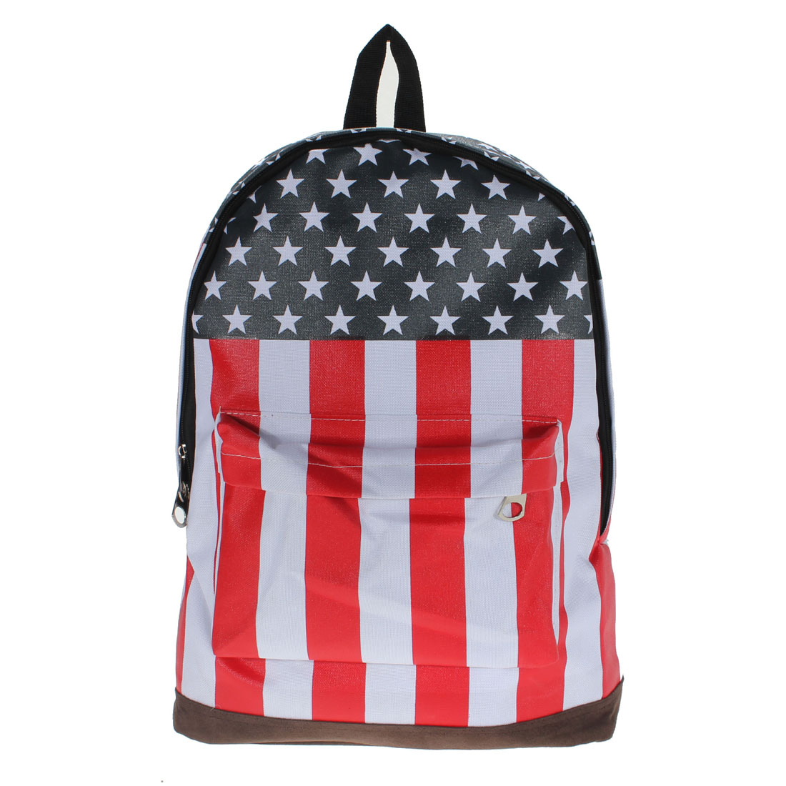 Canvas USA United State Flag BackPack School Bag