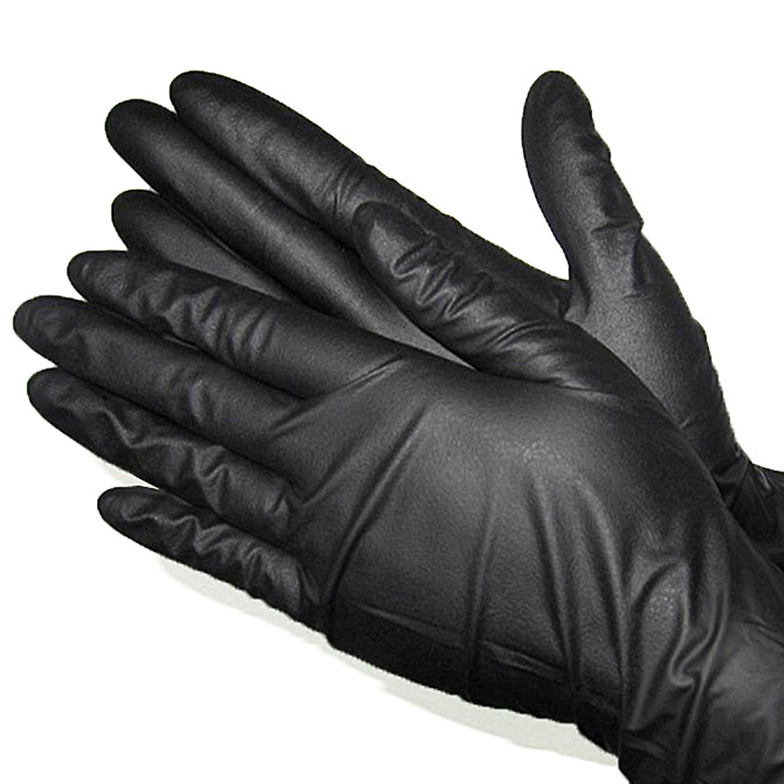 100 Pair Nitrile Latex Tattoo Mechanic Gloves Bodyguard Powder