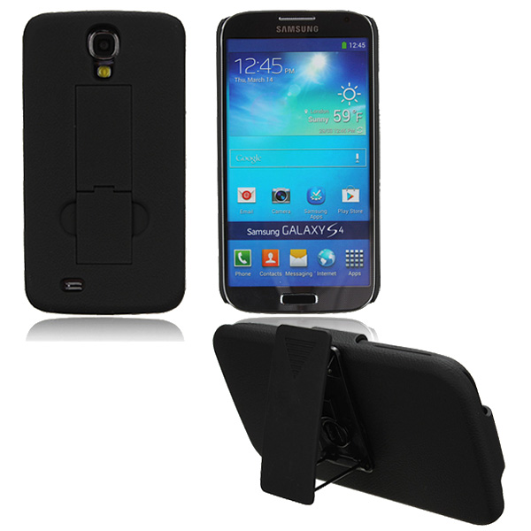 Belt Clip Protective Plastic Case For Samsung Galaxy S4 i9500