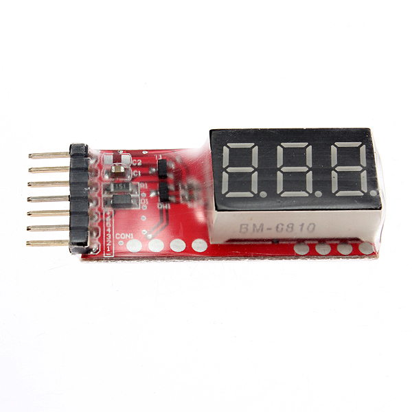 2S-6S RC helicopter digital voltmeter for lipo batteries