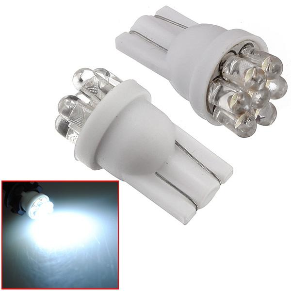 1 pcs 194 501 T10 W5W Power 7 LED Bulb White Lamp New