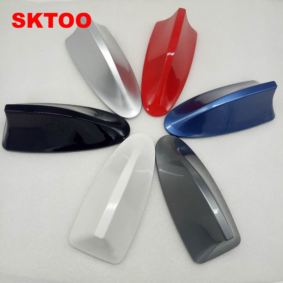 SKTOO For volkswagen passat b5 polo sedan cars shark fin antenna car aerials with blank radio to auto roof antena and 3M sticker