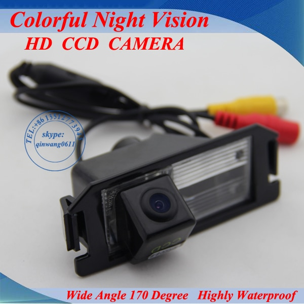 100% High Quality  Free Shipping CCD/HD back up reversing Camera for KIA SOUL / For  Hyundai I30