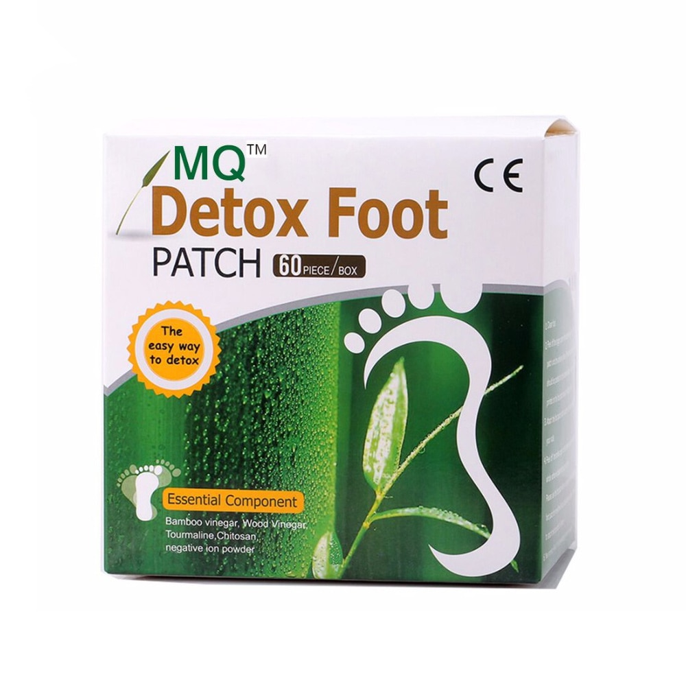 120 Piece=60pcs Patches+60 pcs Beauty Slimming Patch Adhesives Detox Foot Patch Bamboo Vinegar Pads Improve Sleep Slim Gift