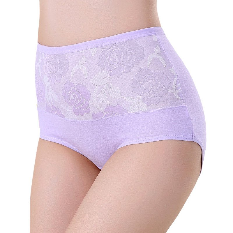 8Color Body Shaper Hip Women Lace Panties High Waist Underwear Women's Panty Fashion Designer Abdomen Control Briefs