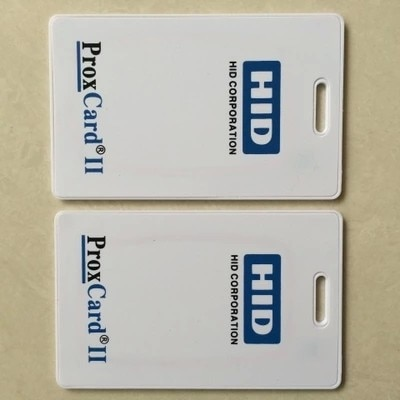 125khz H ID PROX II Clamshell Card Rewritable RFID Proximity H-ID Thick Card